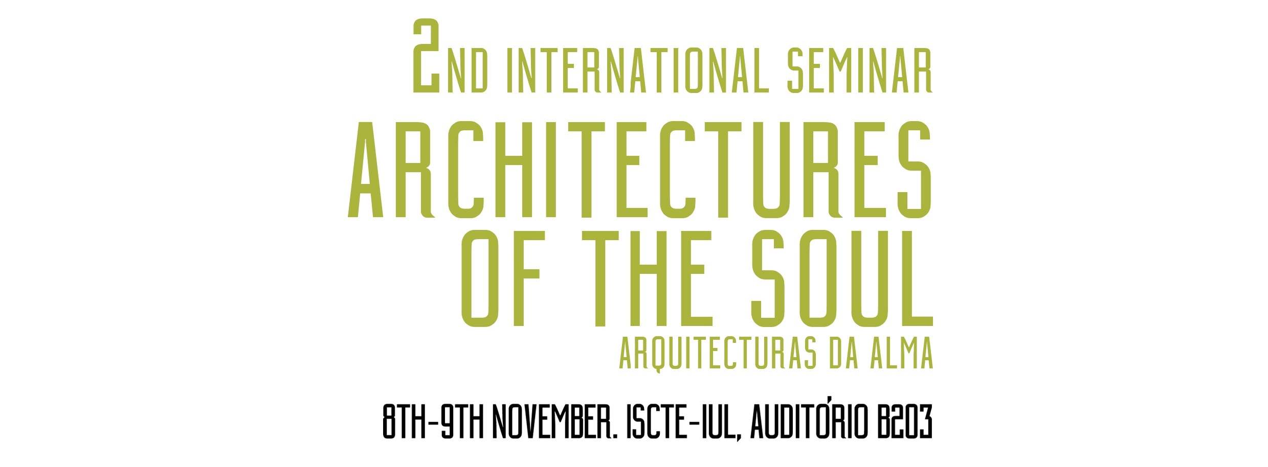 Programa Architectures of the Soul 2